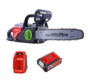 HENX 40 Volt Li-ion Chainsaw + 5.0 Battery & Quick charger