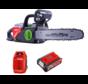 HENX 40 Volt Li-Ion-Motorsäge + 5.0 Accu & Schnelladegerät