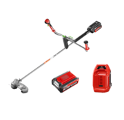 Henx Garden HENX 40V String Trimmer with Bike Handle + 5.0 Battery & Quick charger