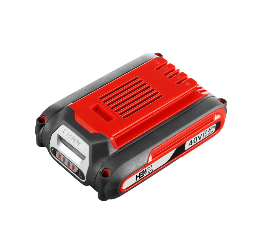 HENX Taille-haie 40V - 2.5 Batterie et Chargeur
