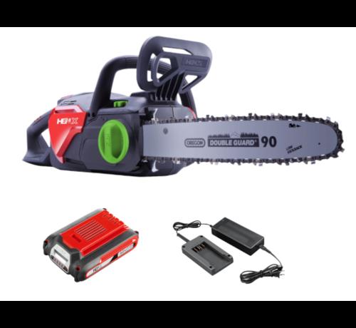 Henx Garden HENX 40 Volt Li-ion Chainsaw - Starter set