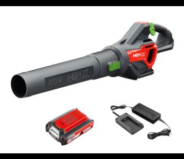 Henx Garden HENX 40V souffleur de feuilles - Batterie  2.5 & Chargeur