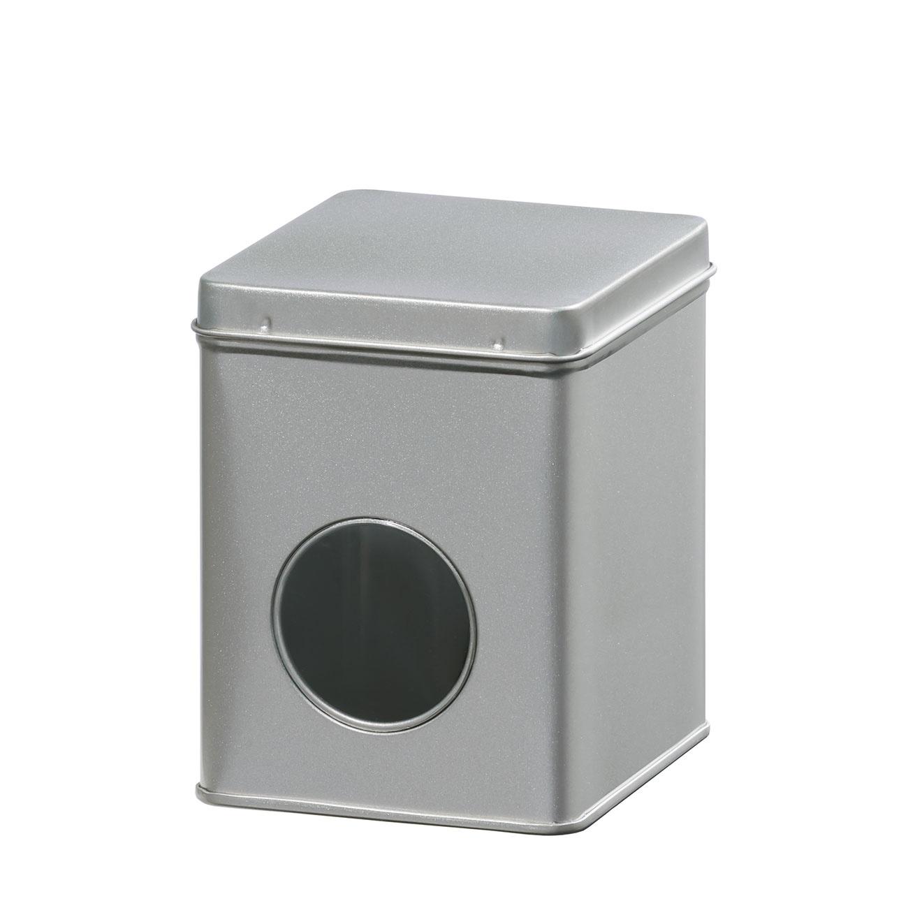 Theeblik met venster | zilver | 100 gr-1