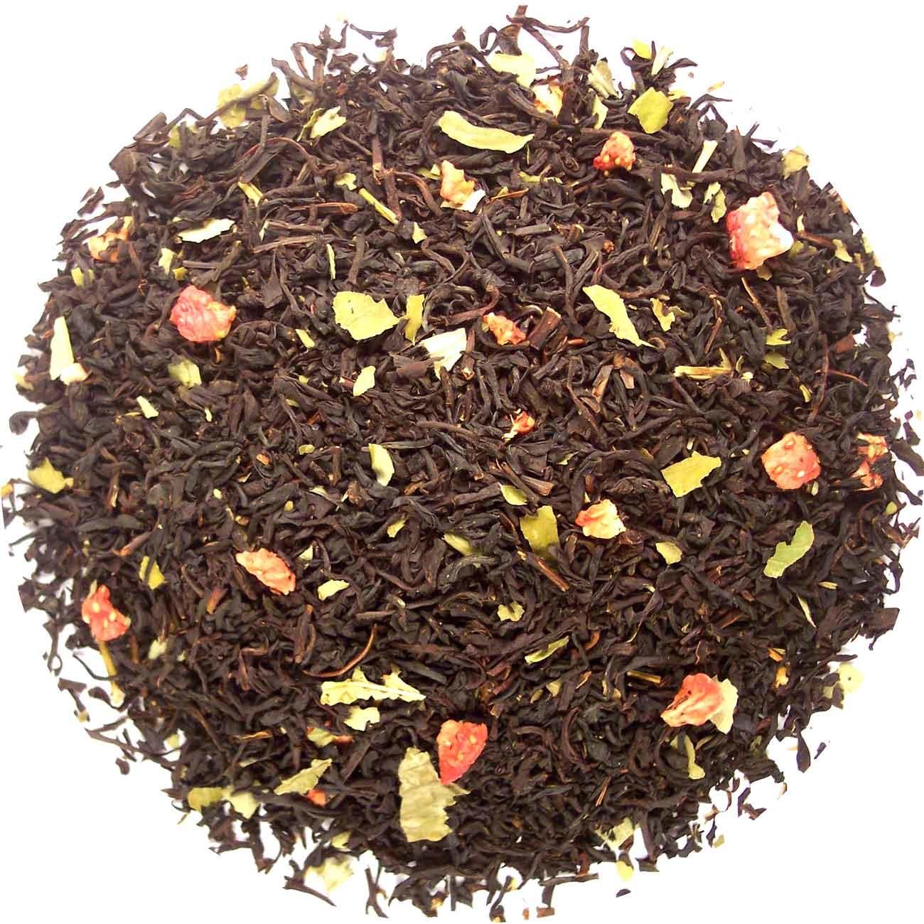 Aardbeien thee-2