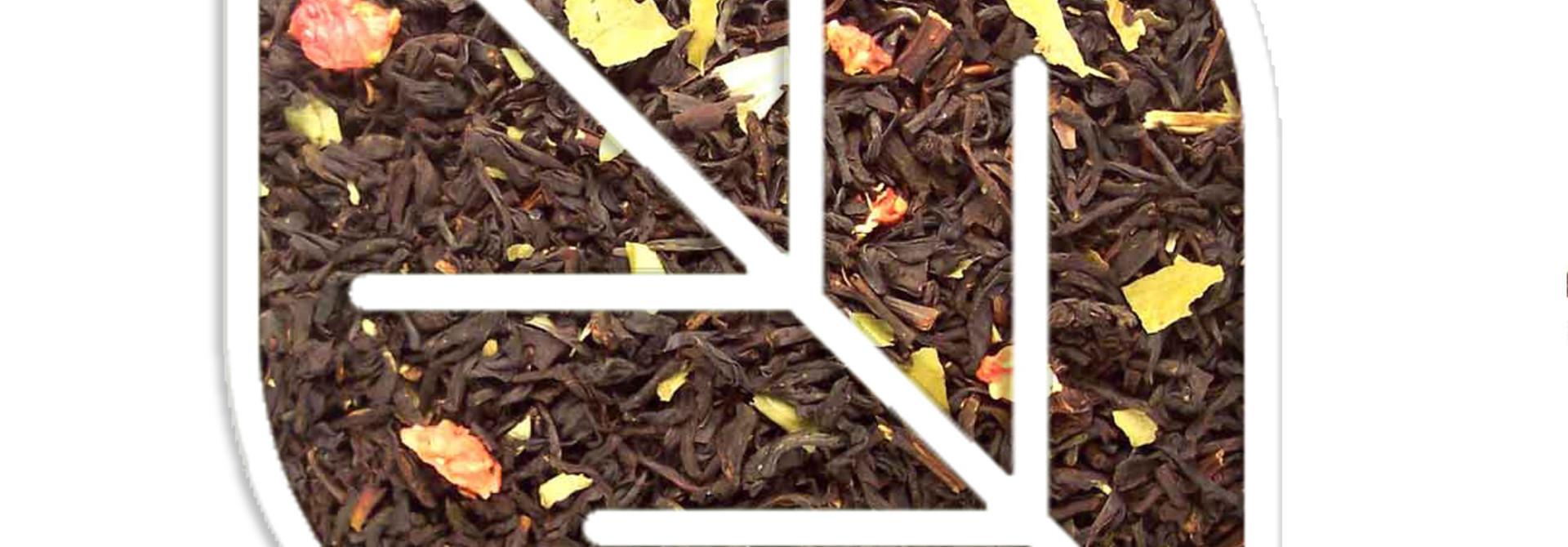 Aardbeien thee