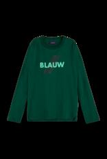 Scotch Shrunk Scotch Shrunk groen long sleeve print BLAUW