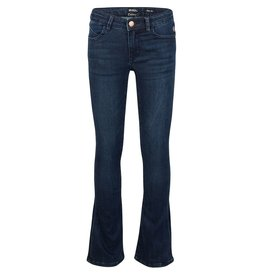 Indian Blue Jeans IBJ flare jeans dark denim