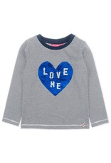 Jubel Jubel verandershirt met 'love me' opdruk