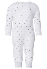 Noppies Noppies Witte Playsuit Met Sterretjes