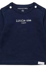 Noppies Noppies Donkerblauw Shirt Met Opdruk 'little one'