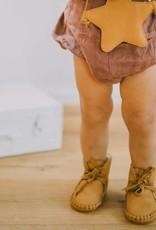 Donsje Donsje Babyschoentje Pina Lining Caramel Nubuck
