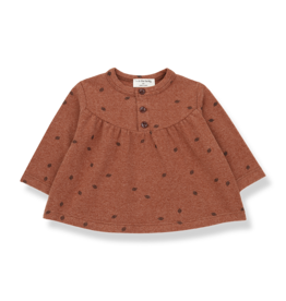 1+ In The Family 1+ in The Family GREDOS baby blouse toffee
