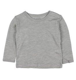 Fixoni Fixoni Wol/Zijde Shirtje Grijs