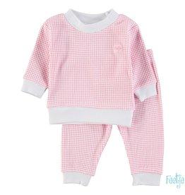 Feetje Feetje roze wafel babypyjama