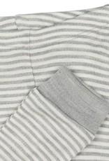 Fixoni Fixoni Wol/Zijde Legging Grijs Wit Gestreept