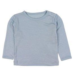 Fixoni Fixoni Wol/Zijde Shirtje Blauw