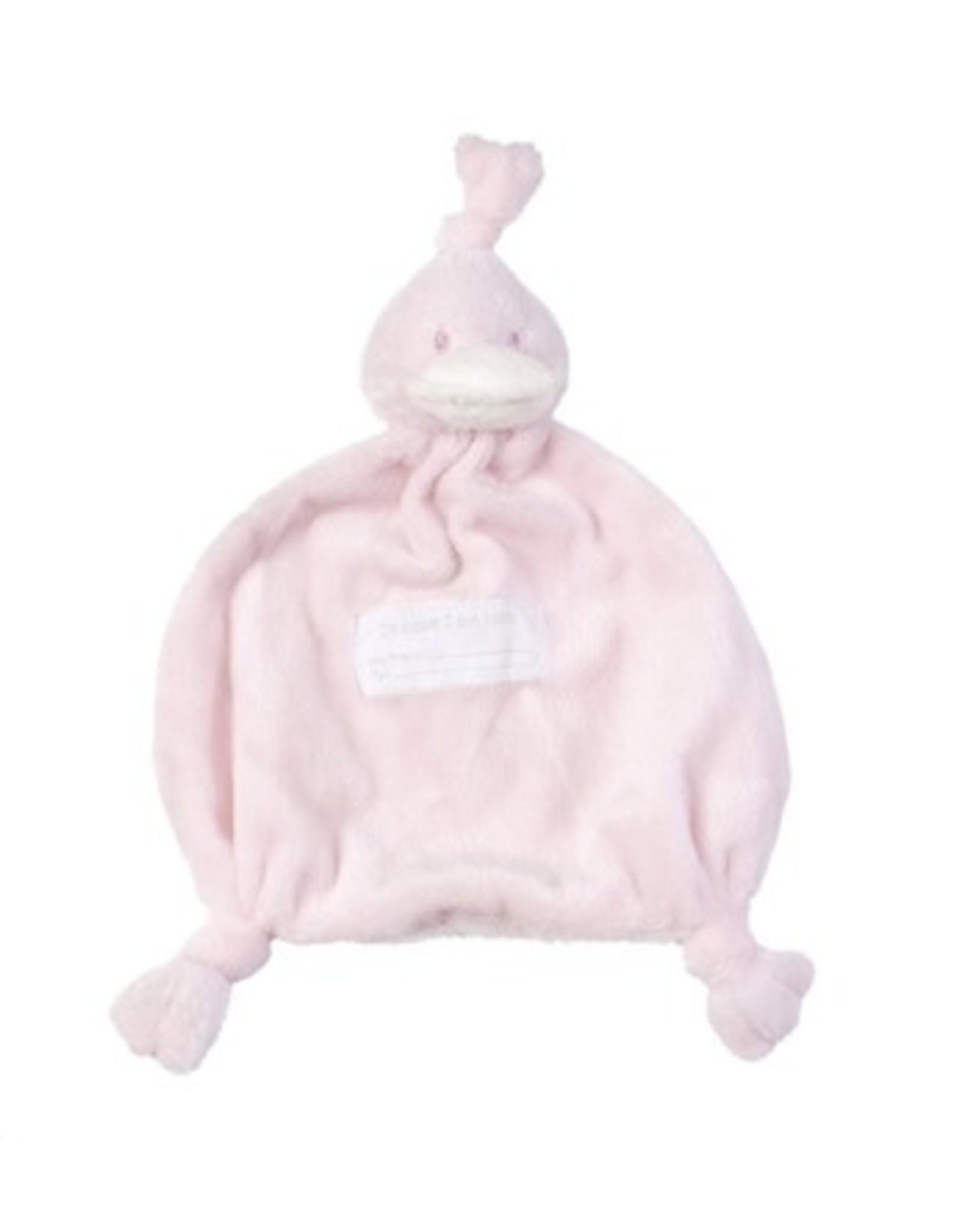 BamBam BamBam Eend Knuffeldoekje Roze