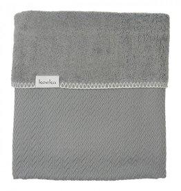 Koeka Koeka Wiegdeken Stockholm Steel Grey 75x100