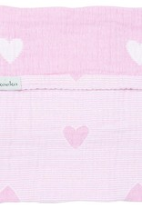 Koeka Koeka Zomerdeken Altea Hearts Water Pink 75x100