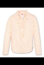 American Outfitters AO blousje t-shirt kwaliteit zalmroze print