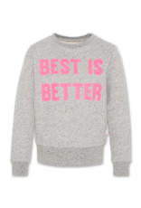 American Outfitters AO sweater met roze 'better' opdruk