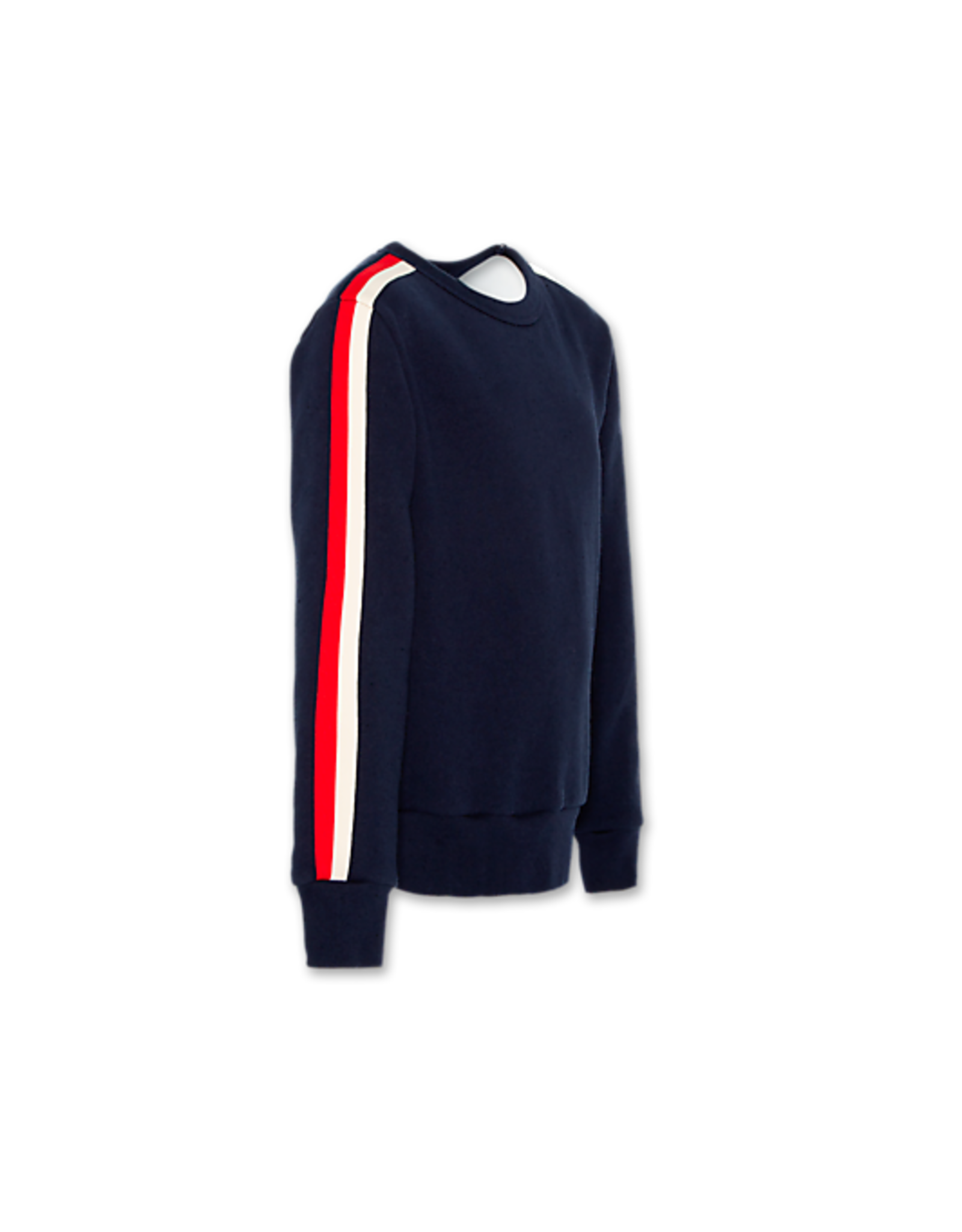 American Outfitters AO sweater donkerblauw met rode streep
