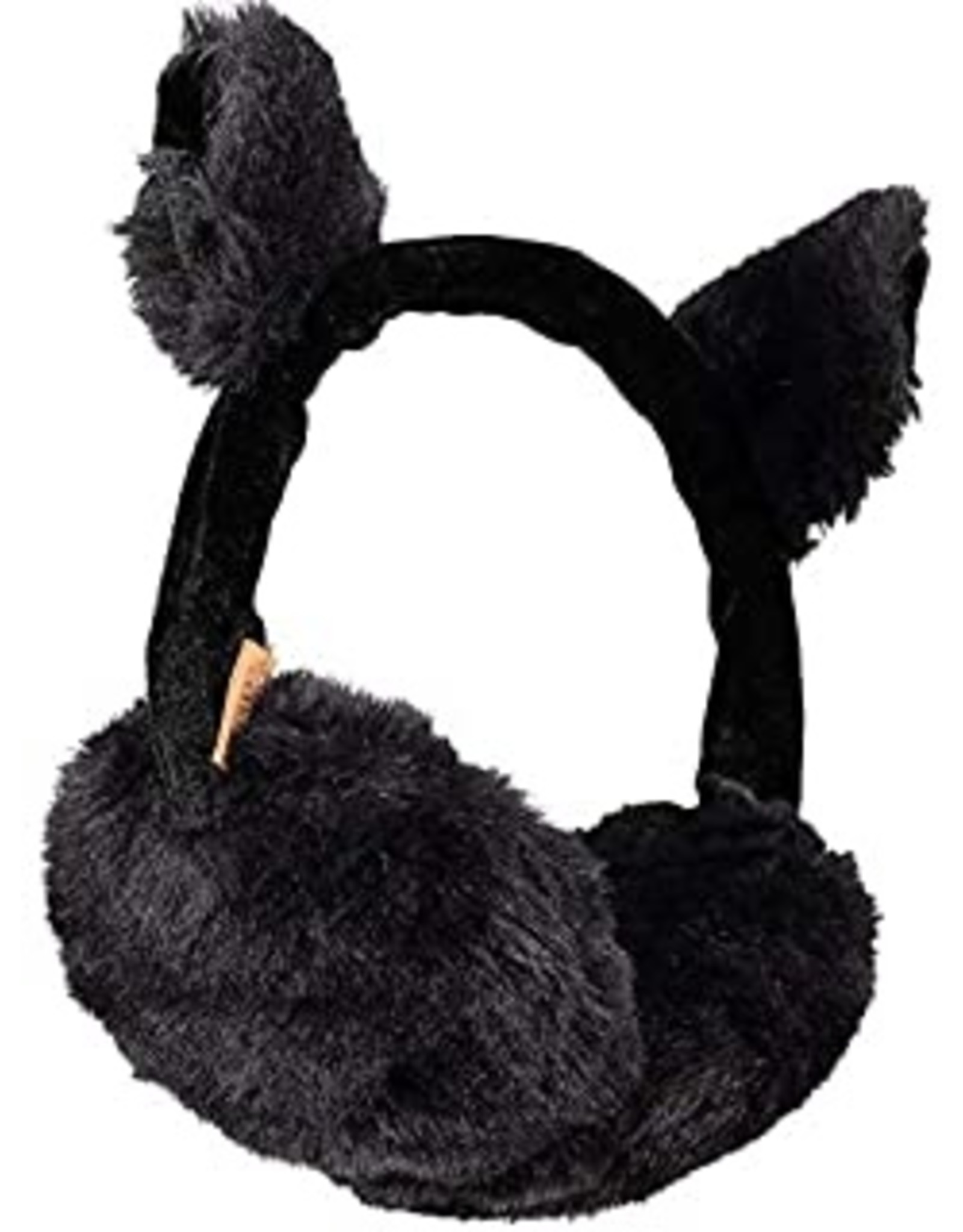 Barts Barts oorwarmer met oortjes zwart glitter