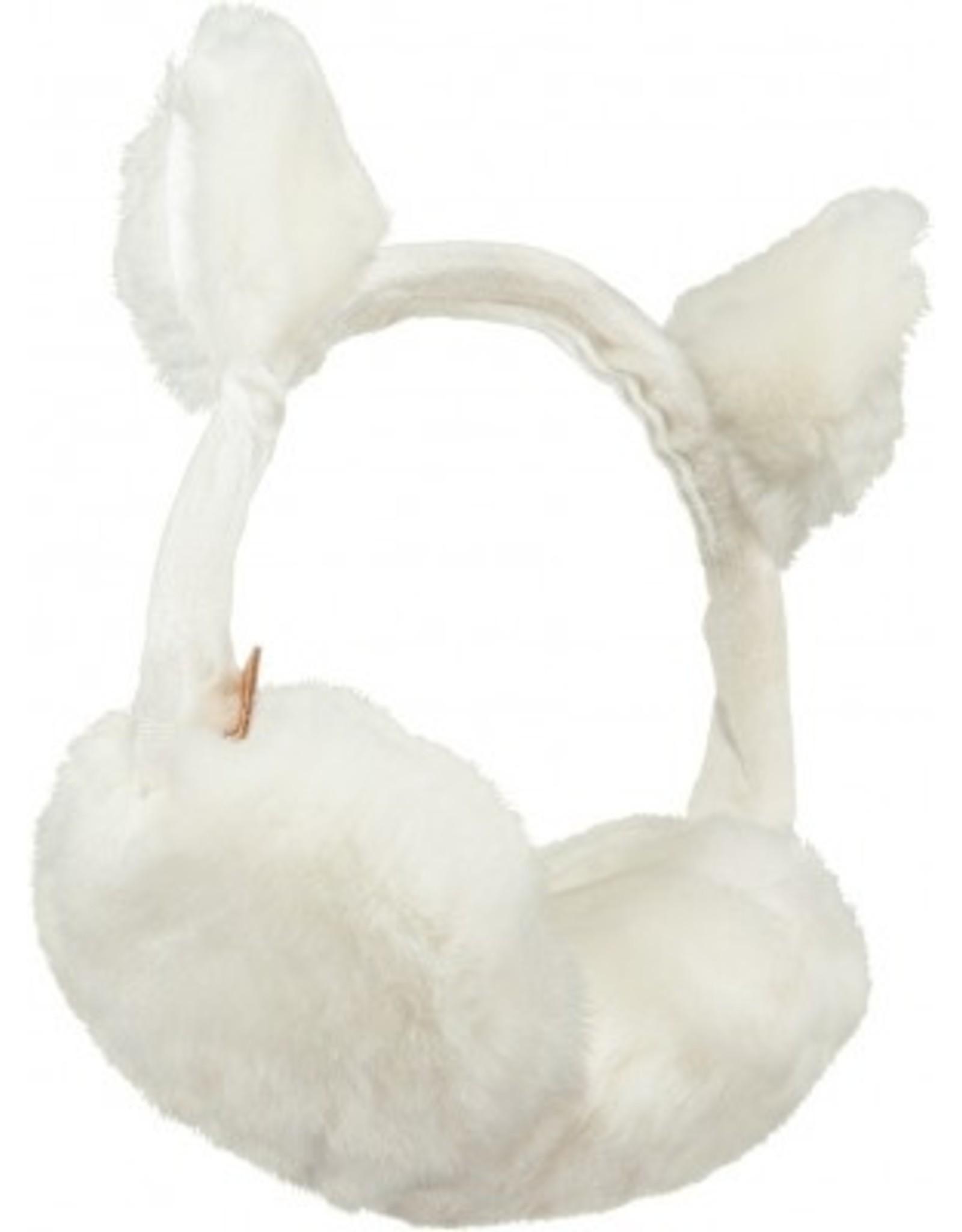 Barts Barts oorwarmer met oortjes wit