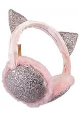 Barts Barts oorwarmer glitter roze