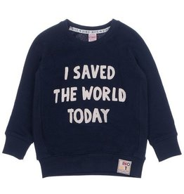 Sturdy Sturdy sweater met 'I saved' opdruk