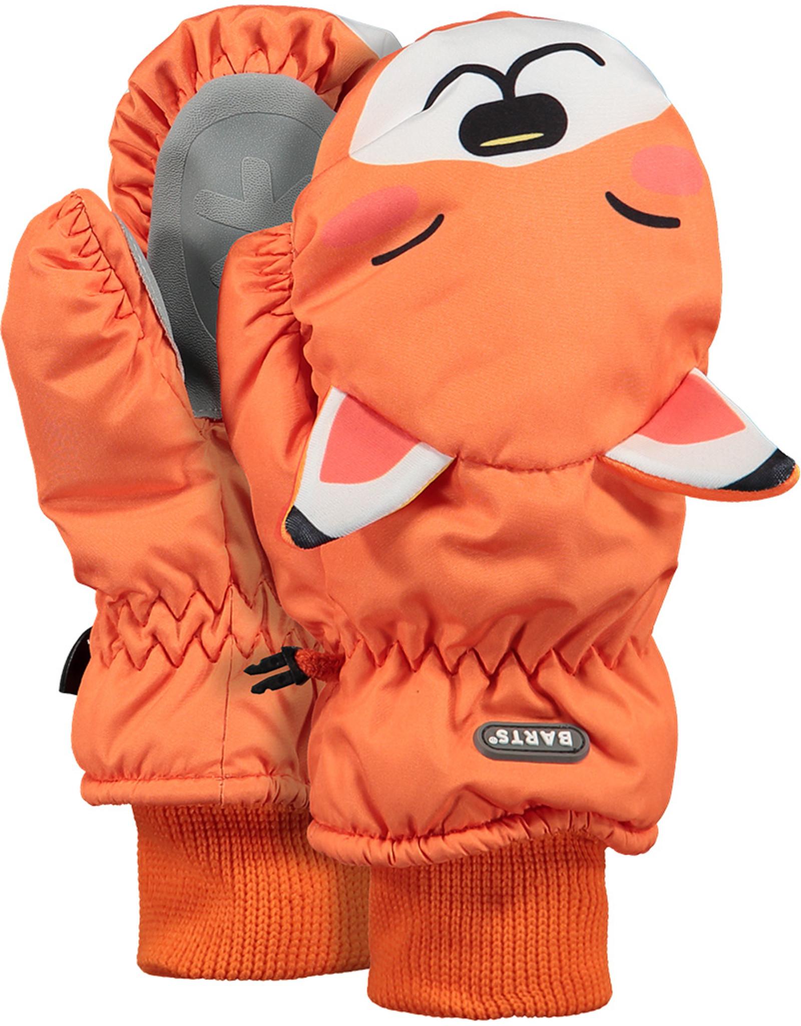Barts Barts nylon wantjes oranje vos