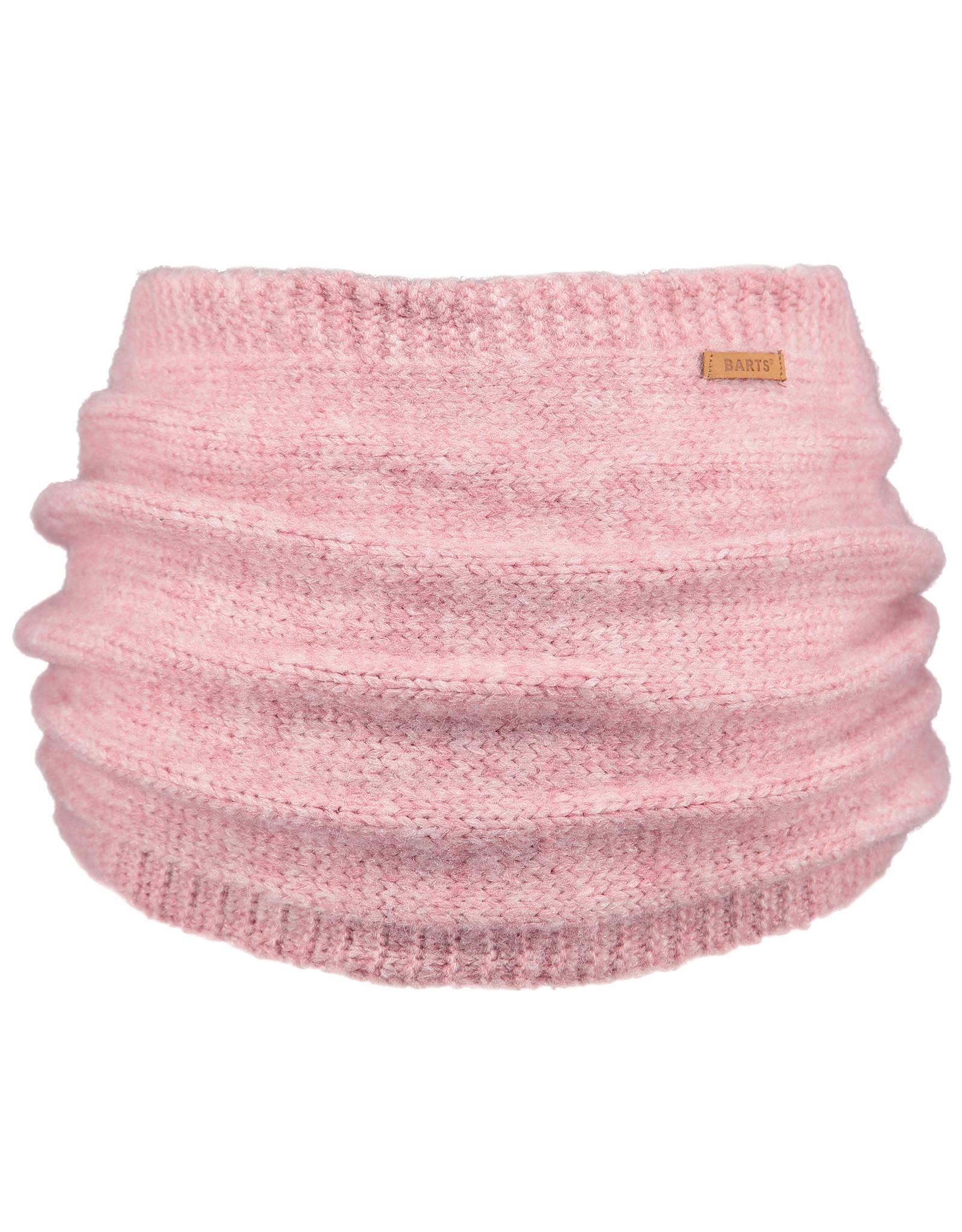 Barts Barts col sjaal roze met teddy voering