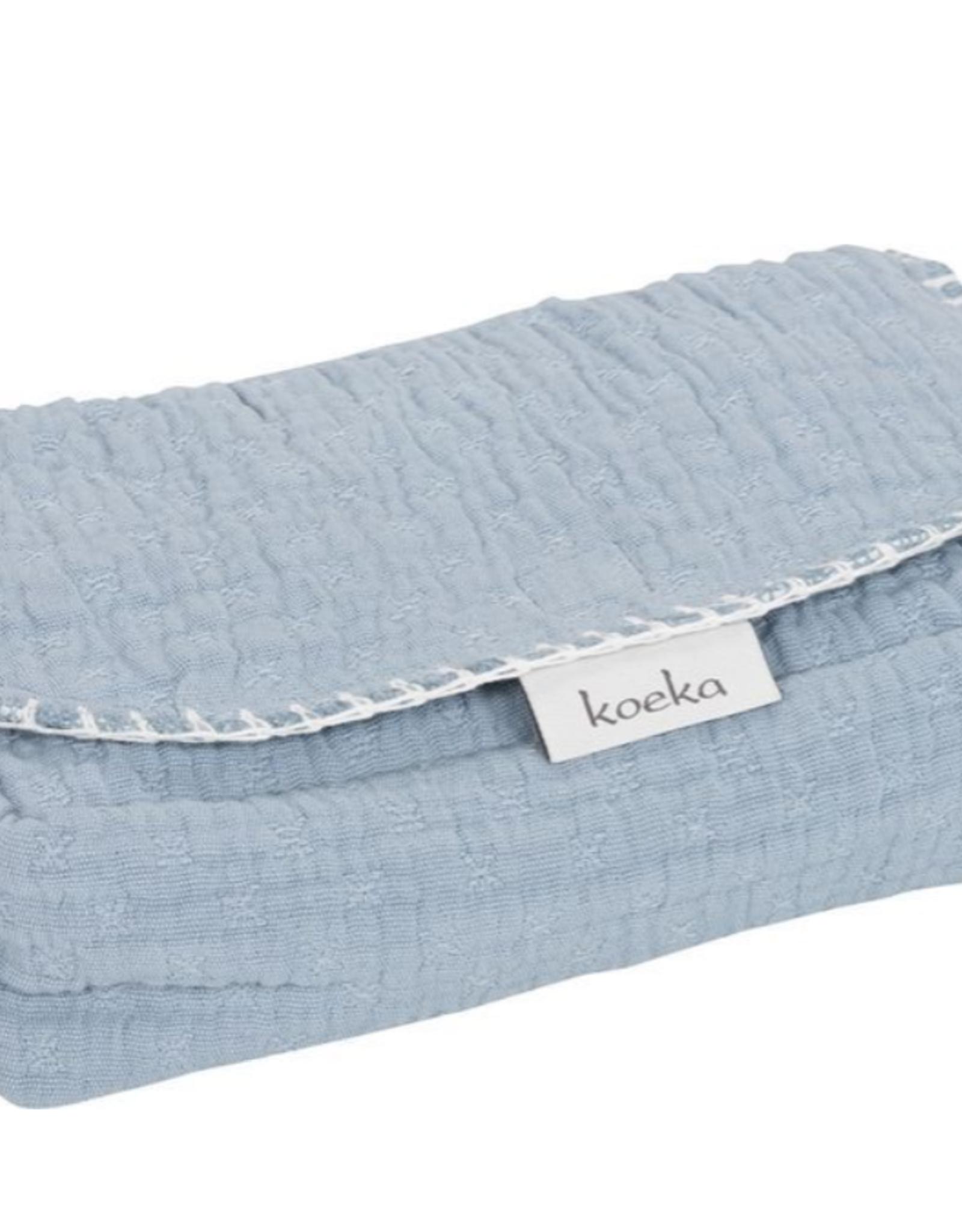 Koeka Koeka Hoes voor Babydoekjes Elba Soft Blue