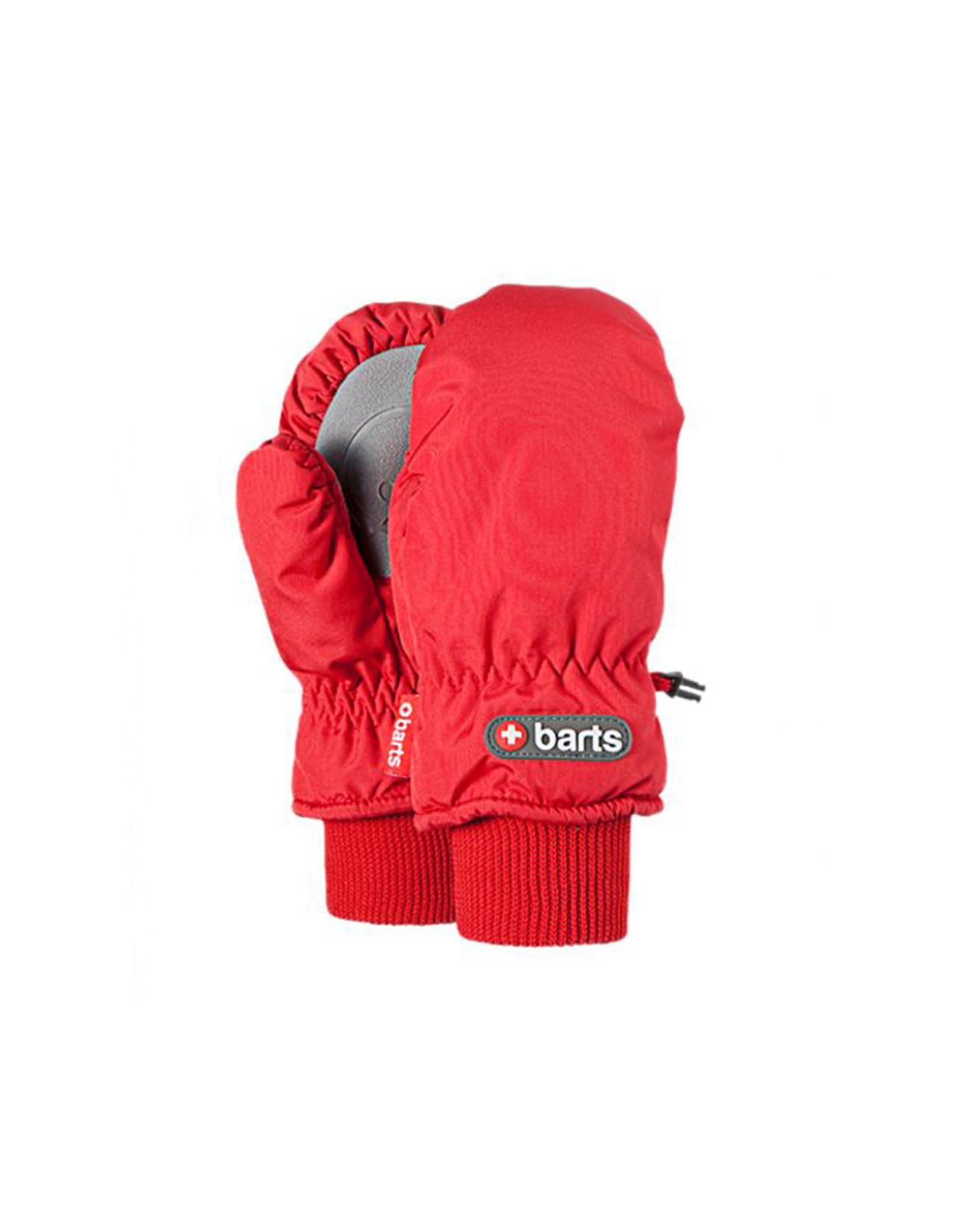 Barts Barts rood wantjes nylon