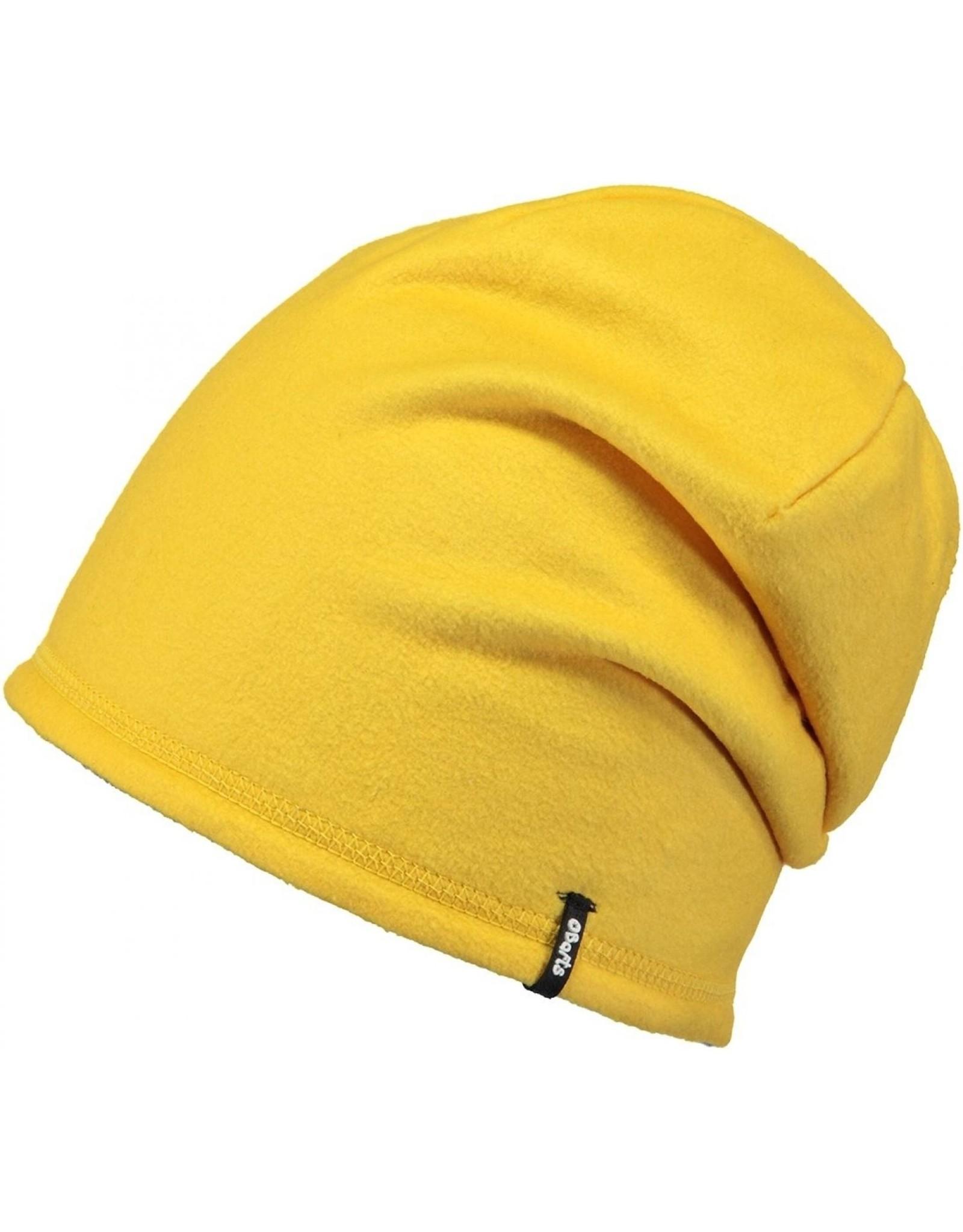 Barts Barts fleece muts geel