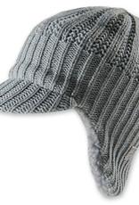 Barts Barts muts grijs met cap en flappen