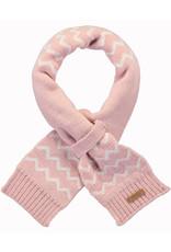 Barts Barts sjaaltje roze met wit zigzag