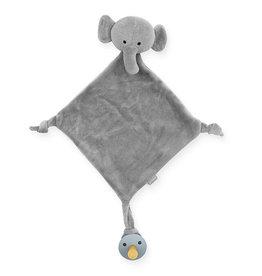 Jollein Jollein knuffeldoekje - Elephant Storm Grey