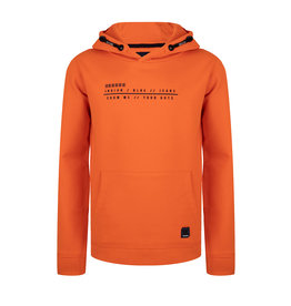 Indian Blue Jeans IBJ Hoodie Show Me Your Guts Oranje