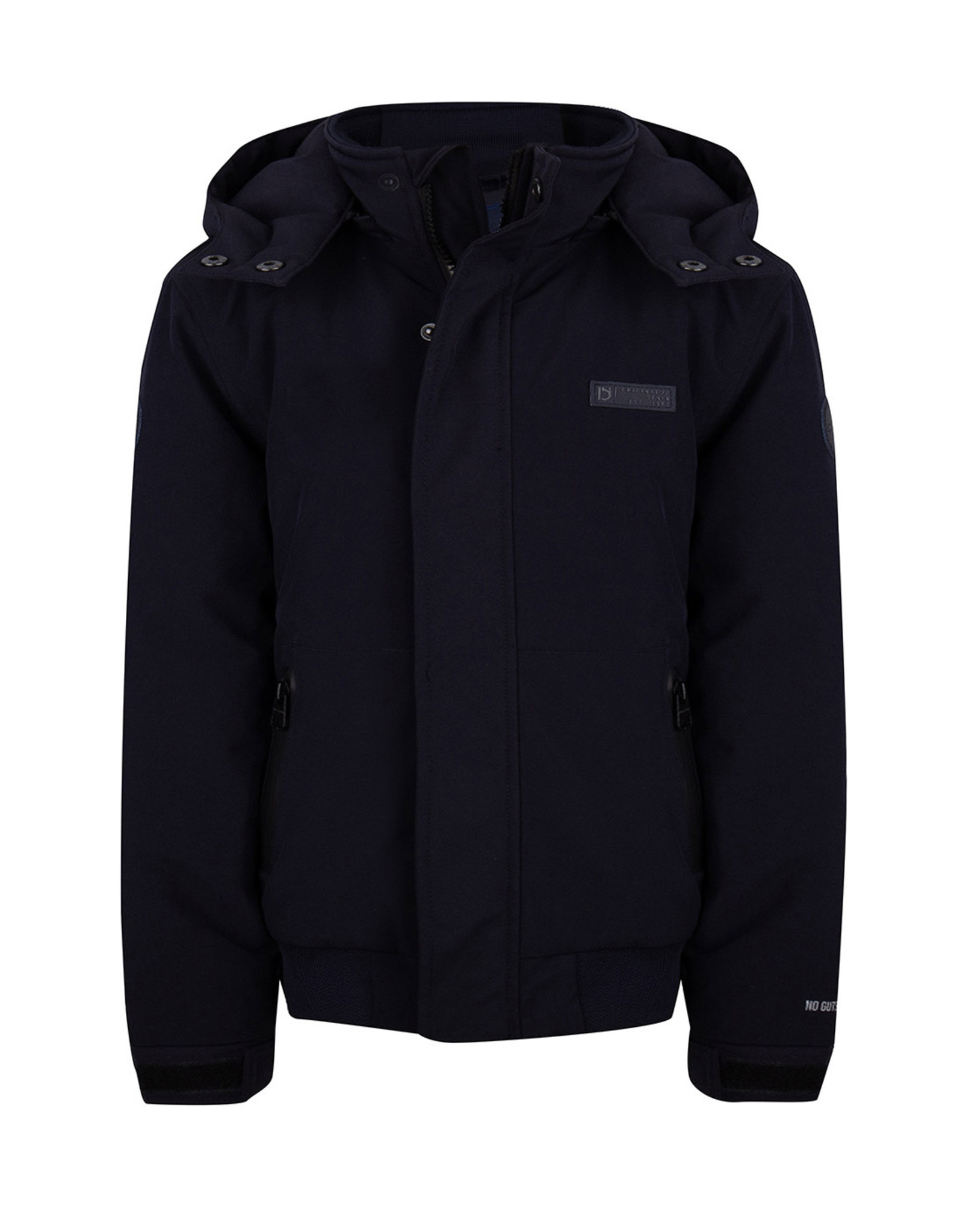 Indian Blue Jeans IBJ Hooded Jacket Softshell Navy