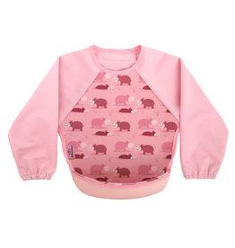 Bibetta Bibetta slab nijlpaard roze lange mouwen