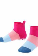Falke Falke Catspads anti-slip huissloffen gestreept roze blauw