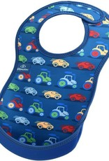 Bibetta Bibetta slab auto blauw zonder mouwen