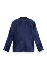 Scotch Shrunk Scotch Shrunk fluwelen navy blazer