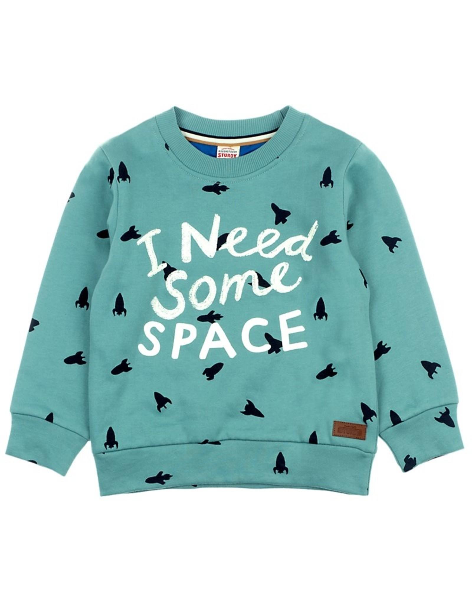 Sturdy Sturdy trui met 'I Need Some Space' opdruk
