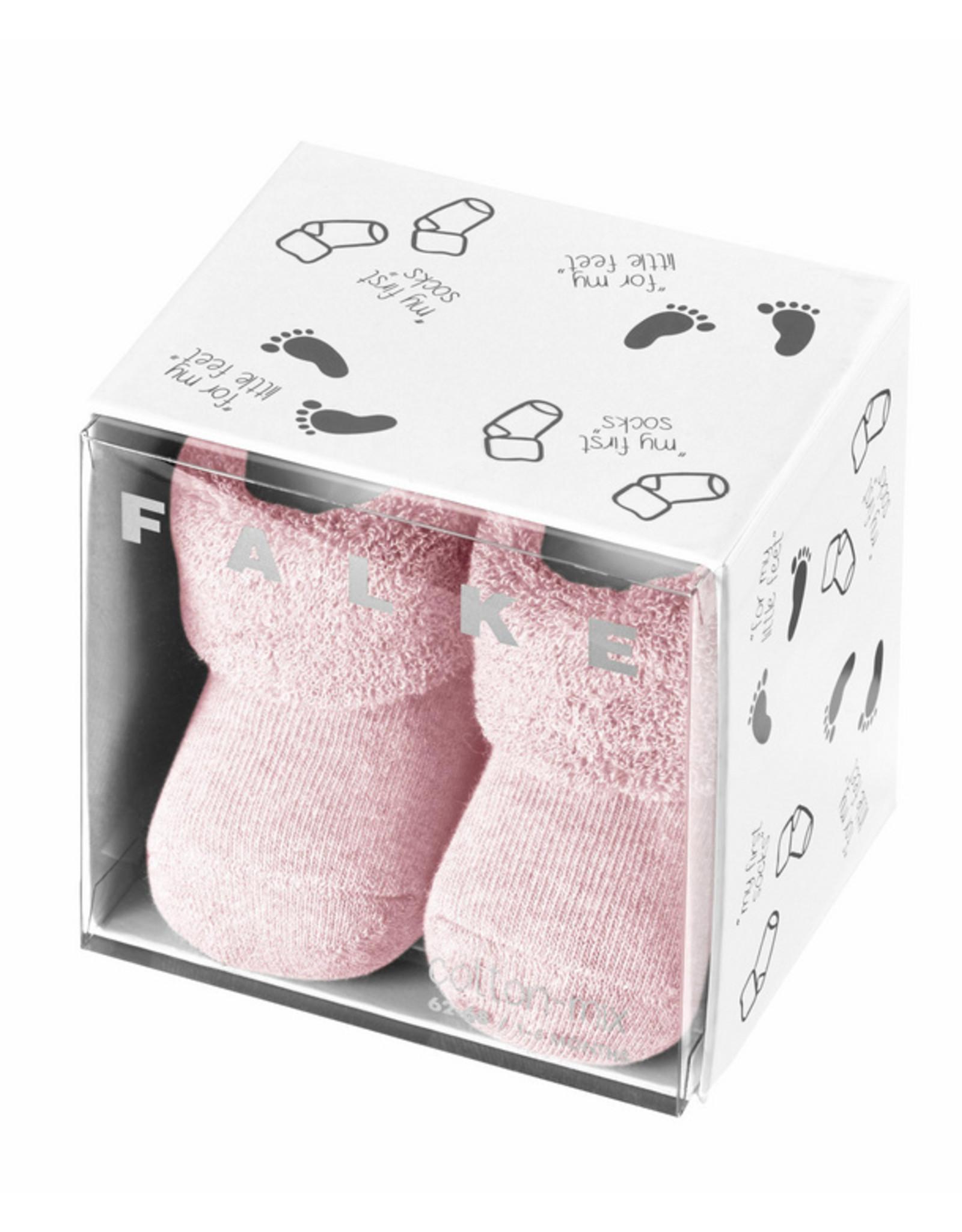 Falke Falke baby sokjes geschenkset poederroze