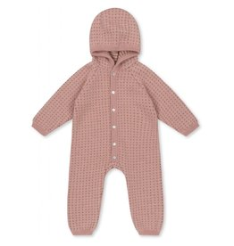 Konges sløjd Konges Sløjd Tomama Onesie Rose Blush/Honey Comb