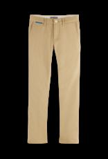 Scotch Shrunk Scotch Shrunk slim fit chino broek beige