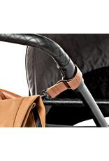 Dusq Dusq stroller straps sunset cognac leather