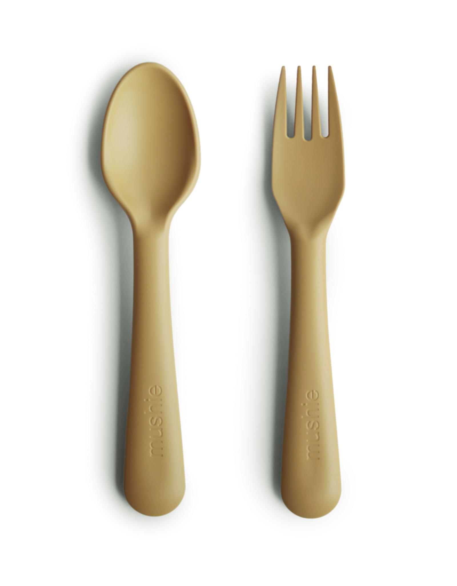 Mushie Mushie Vork & Lepel Mustard
